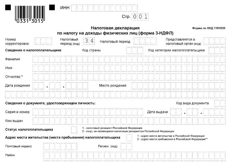 Декларации 3 Ндфл в Санкт-Петербурге